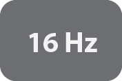 Measurement Rate of 16Hz